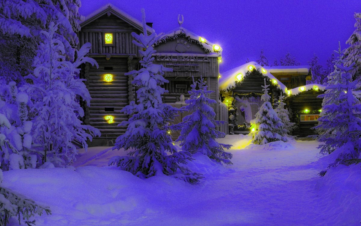 Уютный Новый год 2017 в Скандинавии. Фото с сайта fonxl.ru