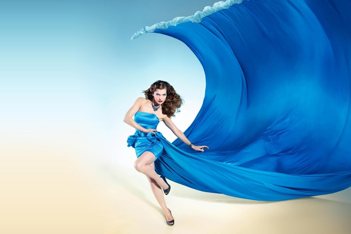Магия синего платья