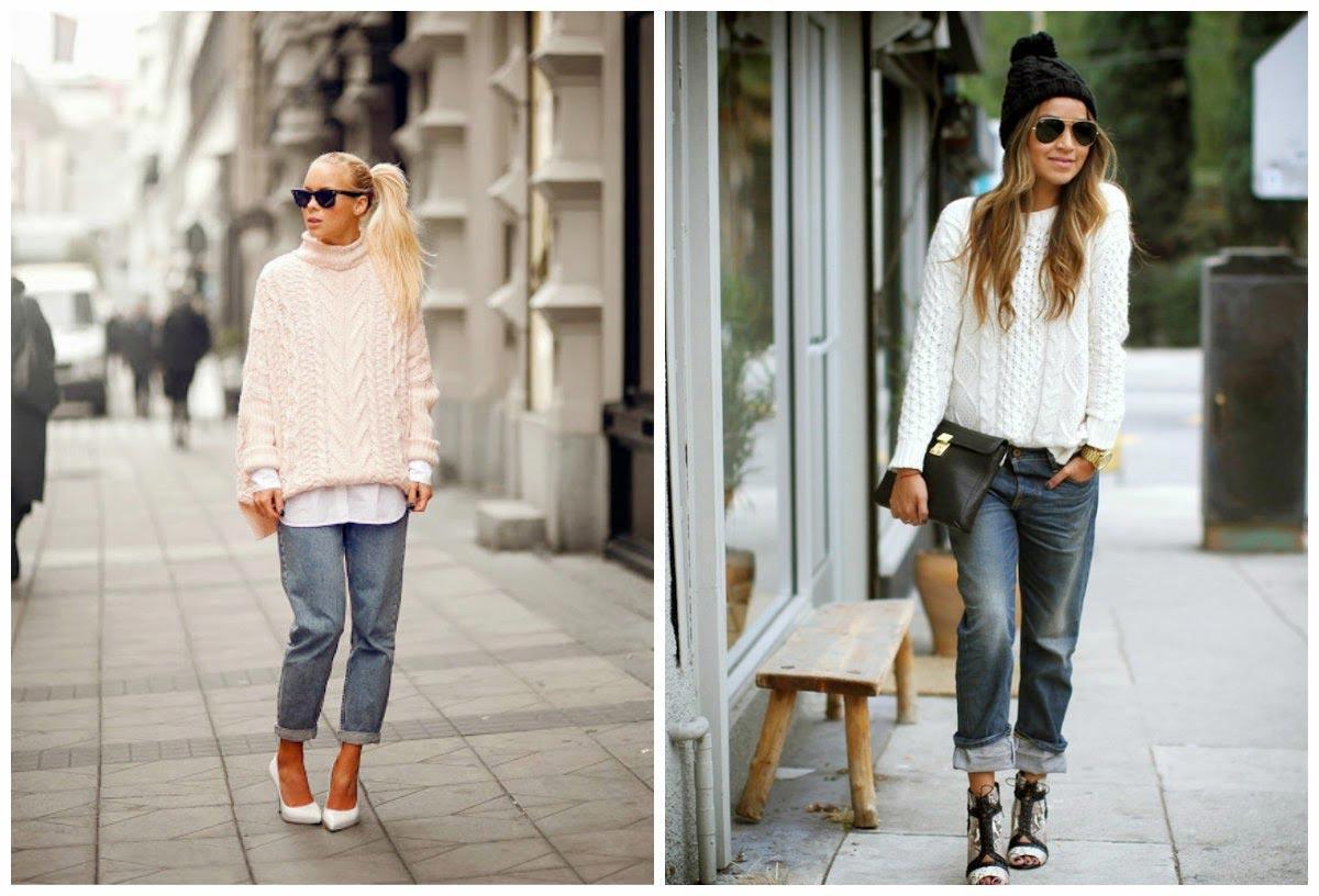 Широкие свитера возвращаются в моду! Фото с сайта adidasomsk.ru