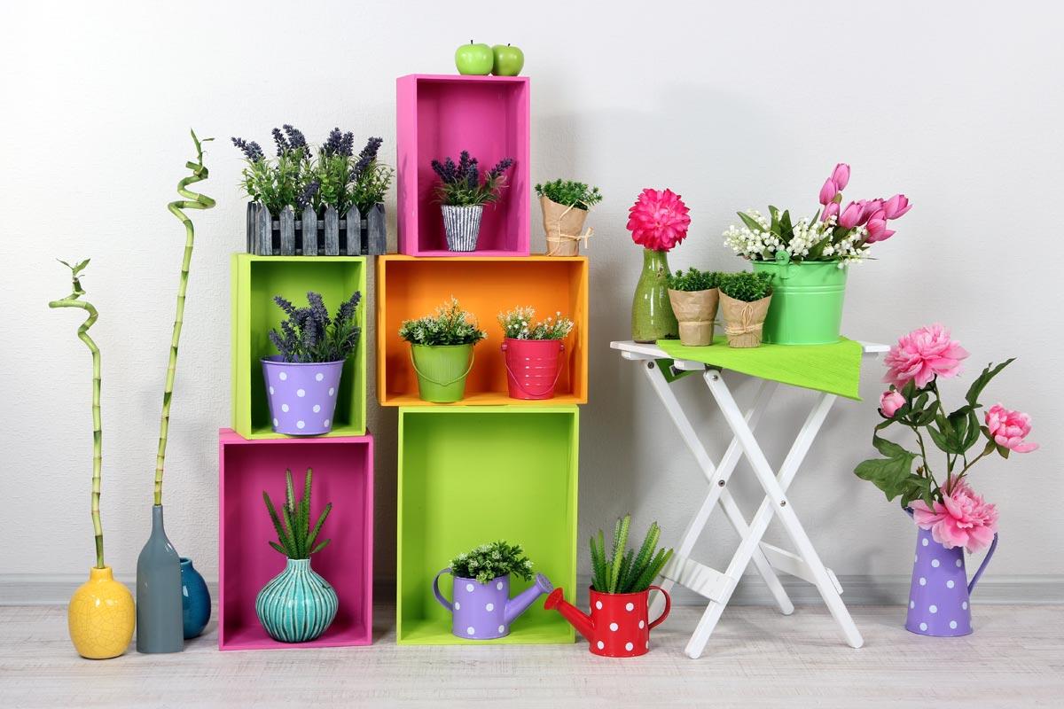 Цветочный декор на 8 Марта. Фото с сайта www.andrew-james.co.uk