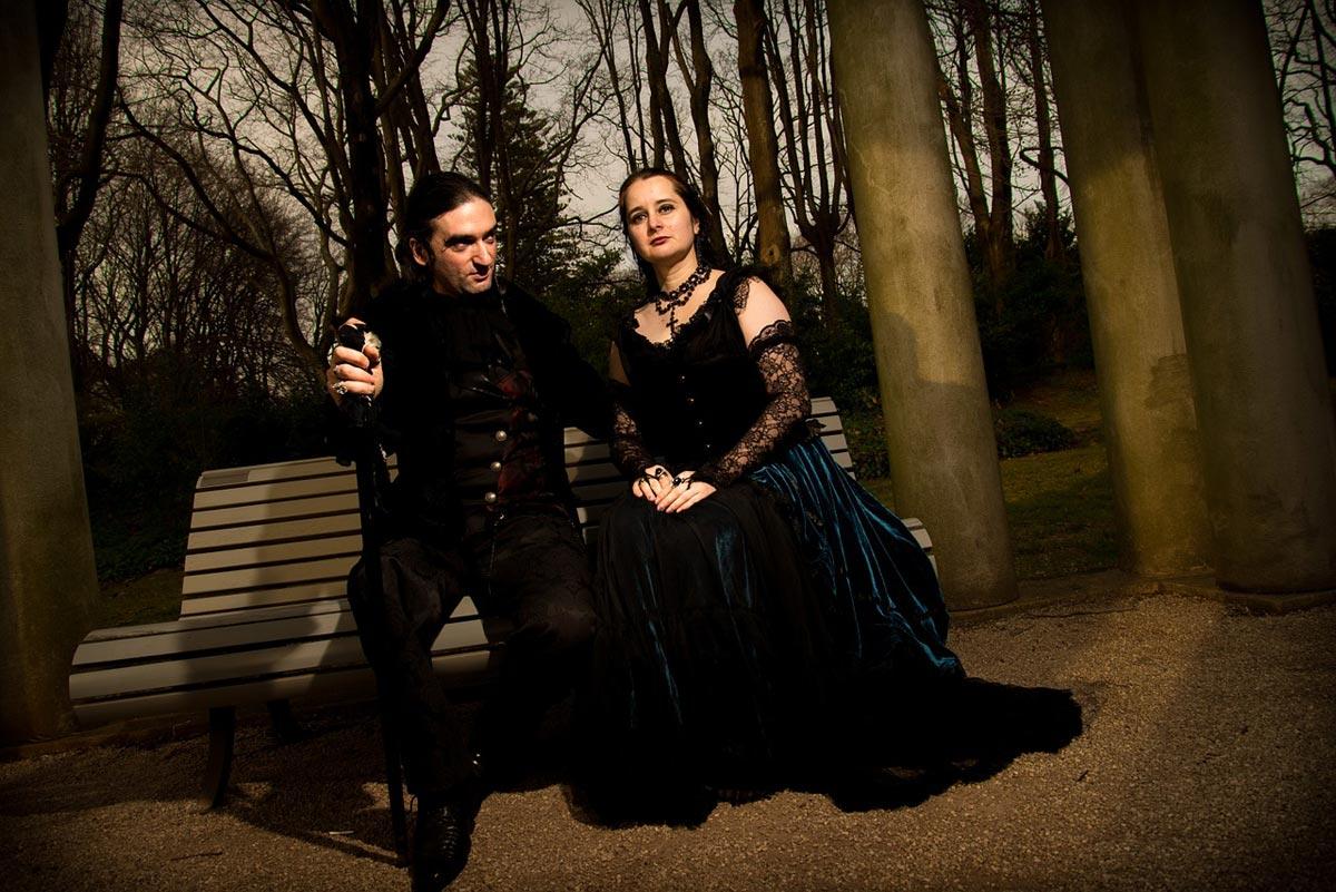 Мастер и Маргарите в современном исполнении. Фото с сайта black-garden.pl