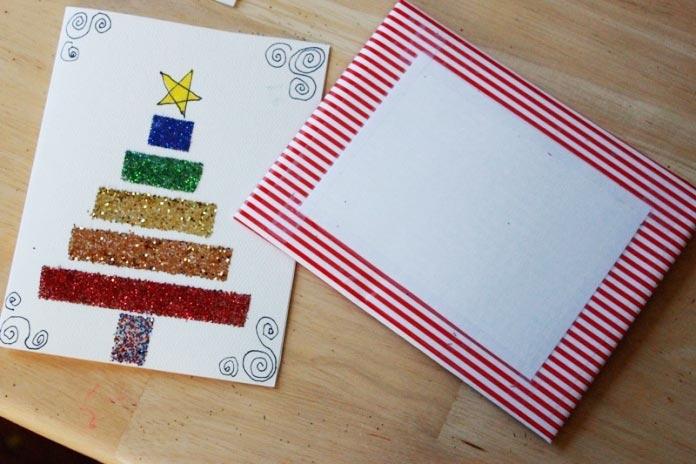 Если малыш украсит письмо сам, то наверняка поверит в чудеса. Фото с сайта broneplenka.biz