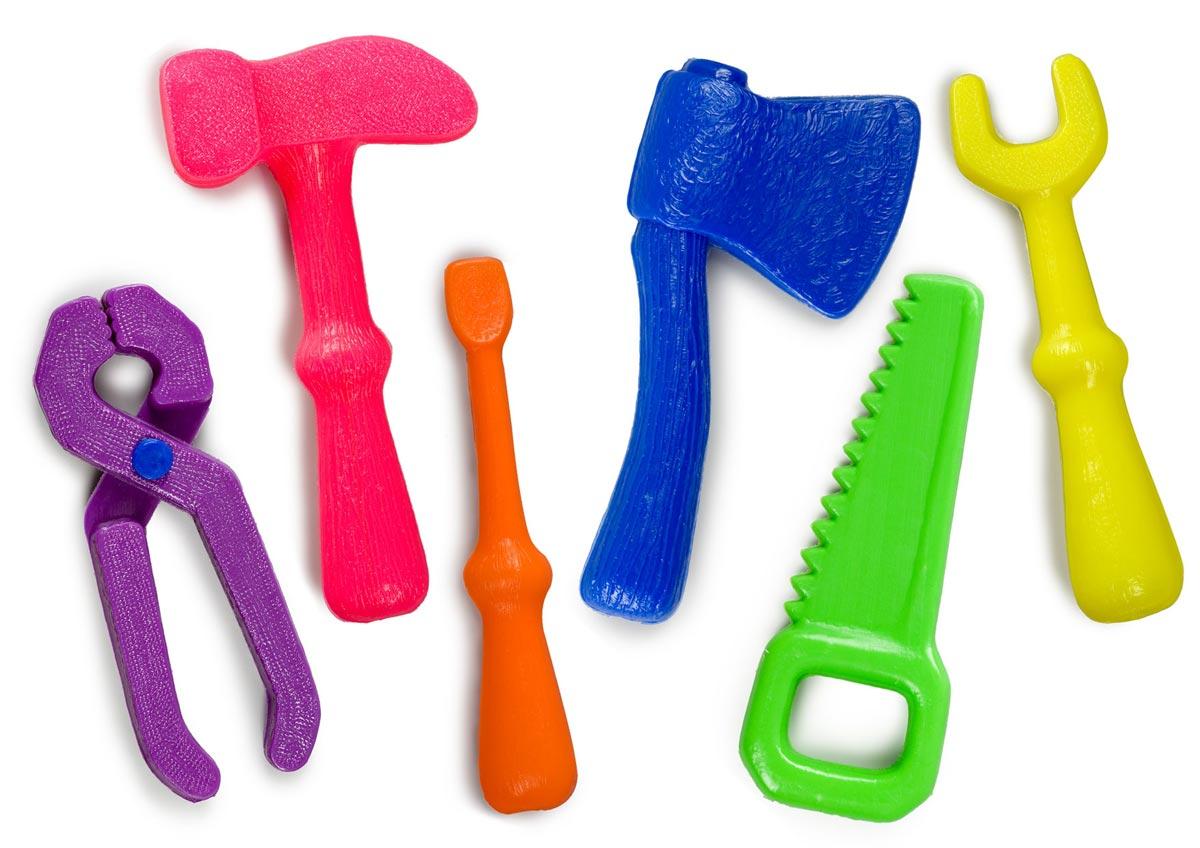 Набор игрушечных инструментов. Фото с сайта www.pupsu.ru