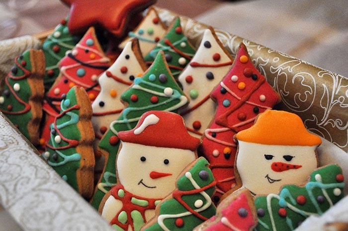 Рождественское печенье. Фото с сайта ru-vkus.ru
