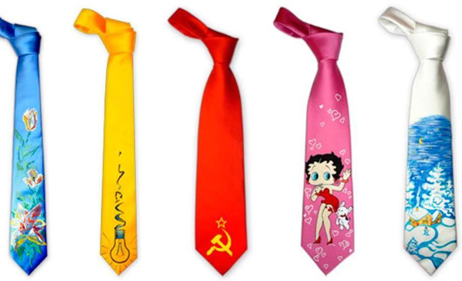 Смешные галстуки оценит не каждый. Фото с сайта news.rate.by
