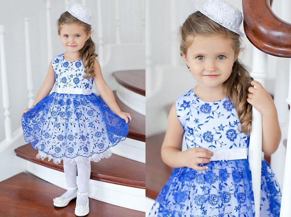 Детское платье на 8 Марта. Фото с сайта moyneposeda.ru