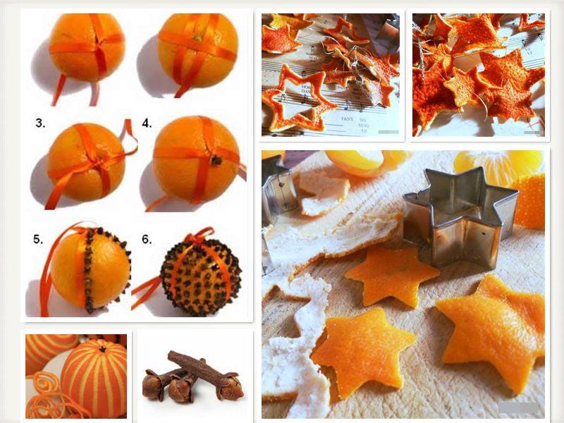 Декор стола из апельсинов. Фото с сайта img-fotki.yandex.ru