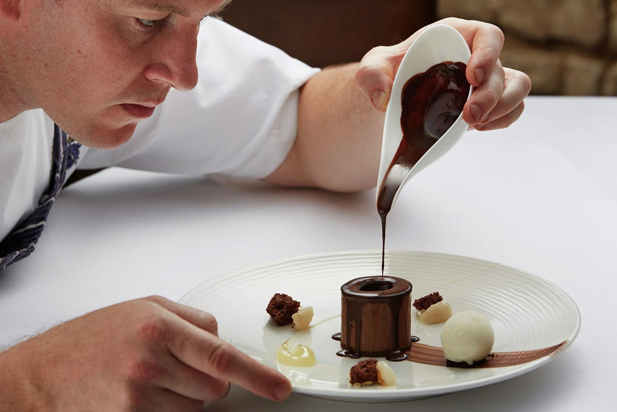 Шоколадный десерт. Фото с сайта www.fresher.ru