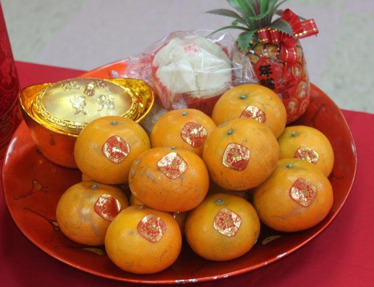 Принесите мандарины в тот дом, где жителям вы желаете денег. Фото с сайта www.dimaxblog.ru