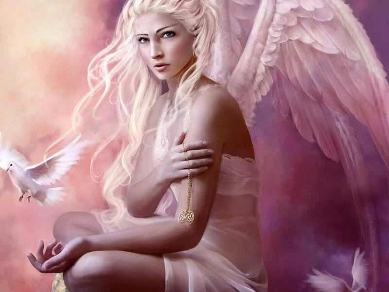Ангел-хранитель есть у каждого. Фото с сайта magickey.com.ua