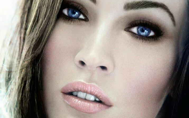 Оригинальный макияж для голубоглазых. Фото с сайта makijazhglazok.ru