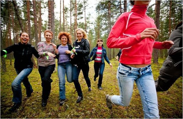 Квест на день рождения. Фото с сайта www.bazasb.ru
