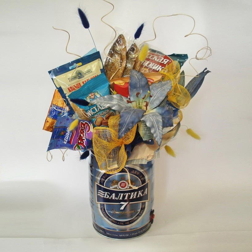 Корзина вкусностей в подарок. Фото с сайта diary.ru