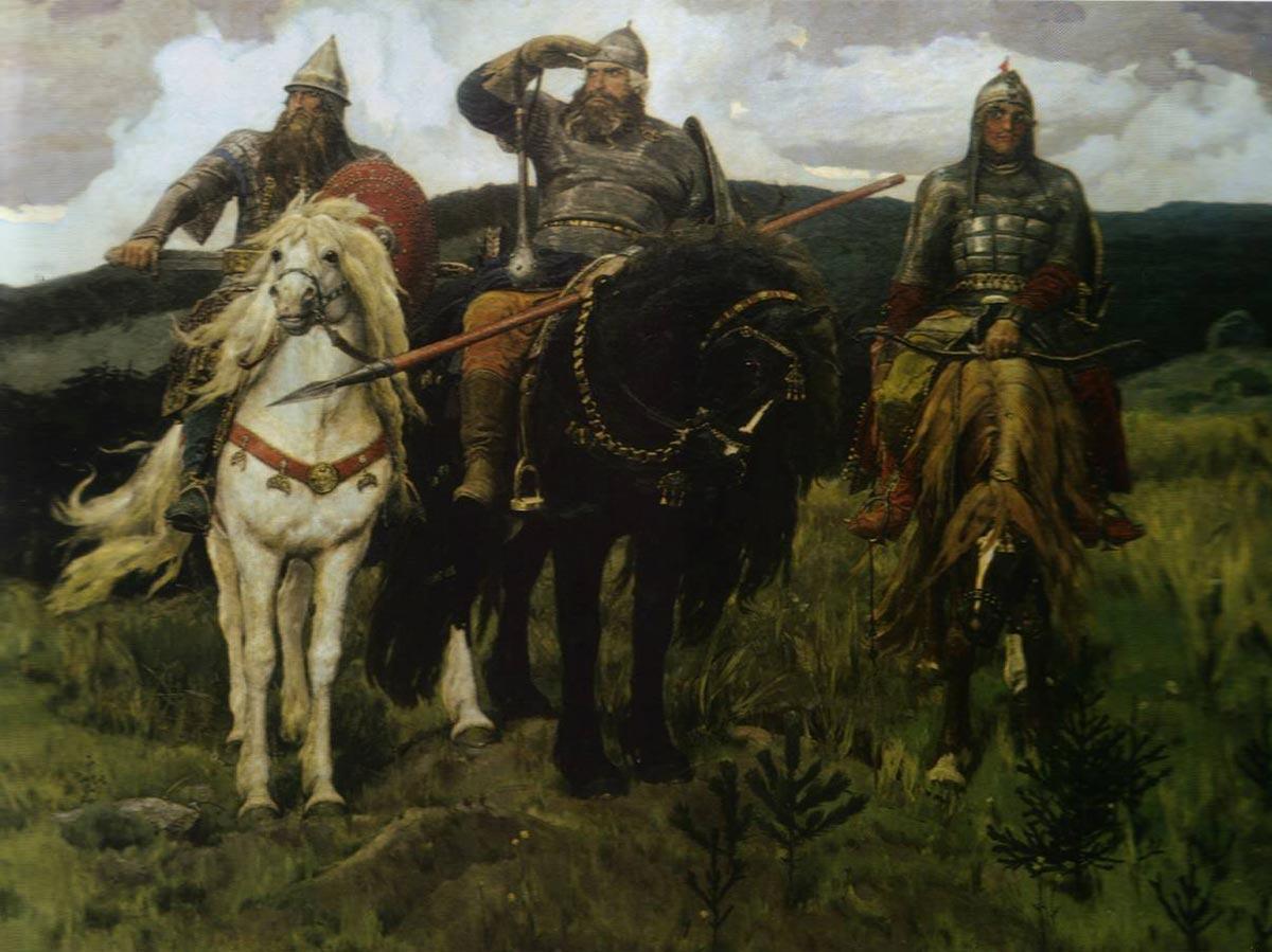 Русские богатыри. Фото с сайта topwar.ru