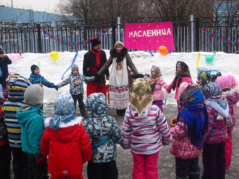 Празднике Масленицы. Фото с сайта sch1103uz.mskobr.ru