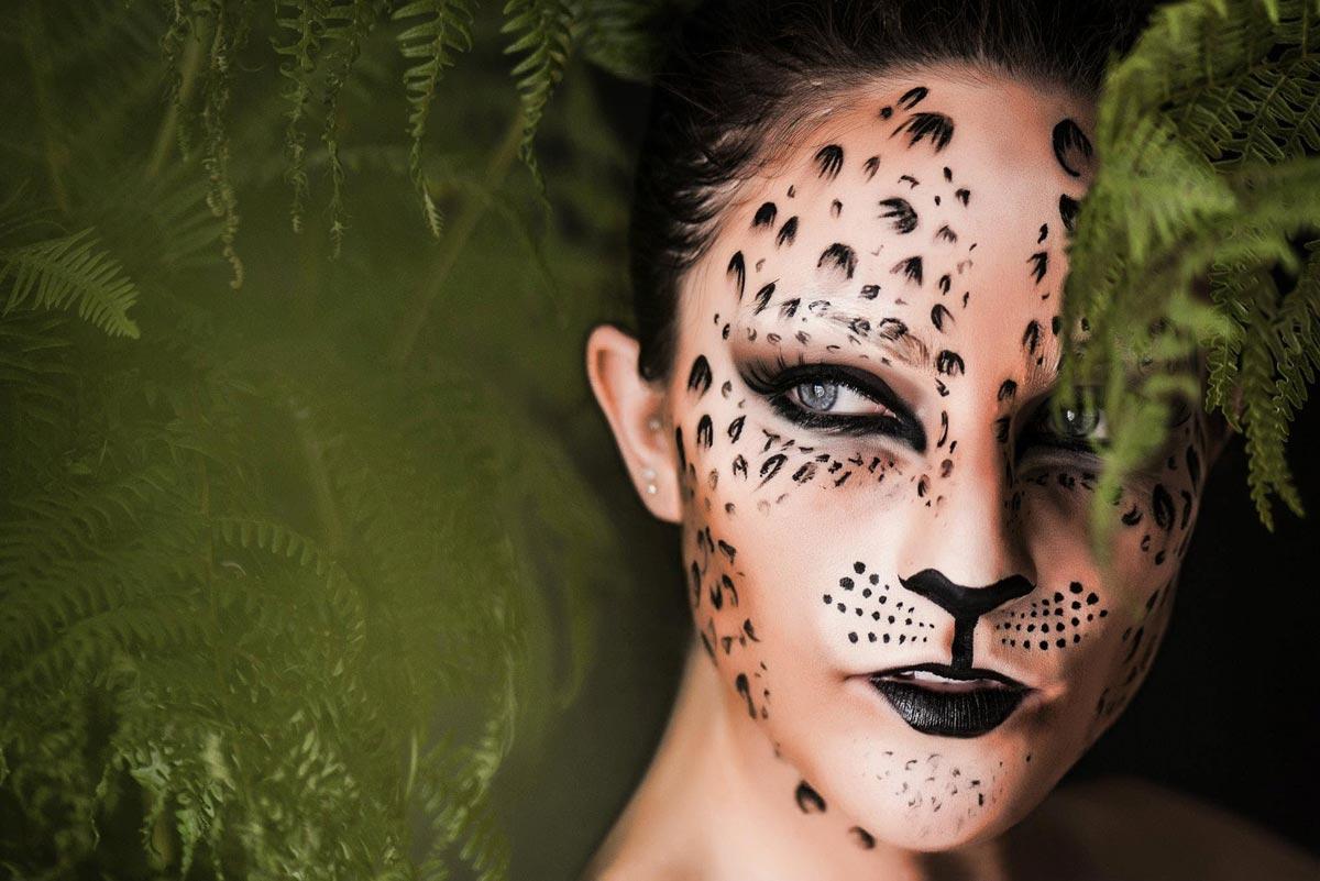 Макияж леопарда. Фото с сайта josh.gavaghan.org