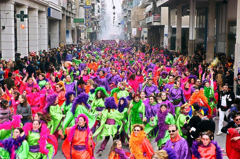 Праздник Масленицы. Фото с сайта www.kerdos.gr