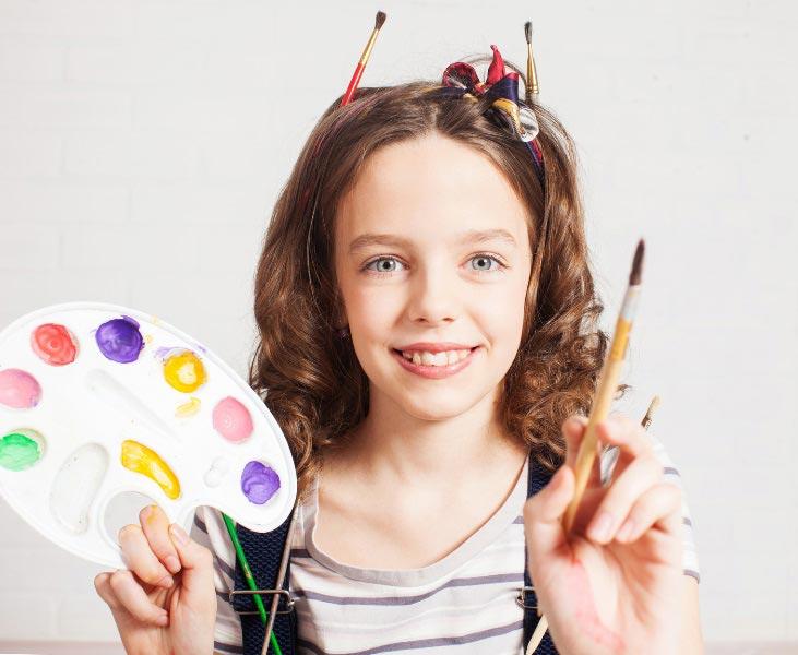 Творческой девочке – творческий подарок. Фото:© Tatyana Gladskih