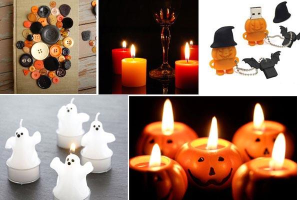 Привидения и тыквы - символы Хэллоуина. Фото с сайта funbook.com.ua
