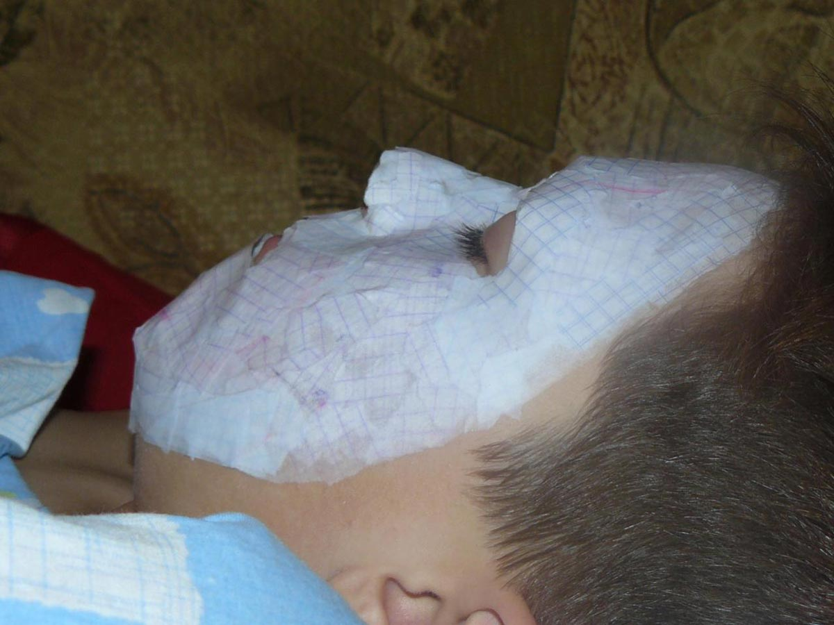 Основа для маски из папье-маше. Фото с сайта allods.mail.ru