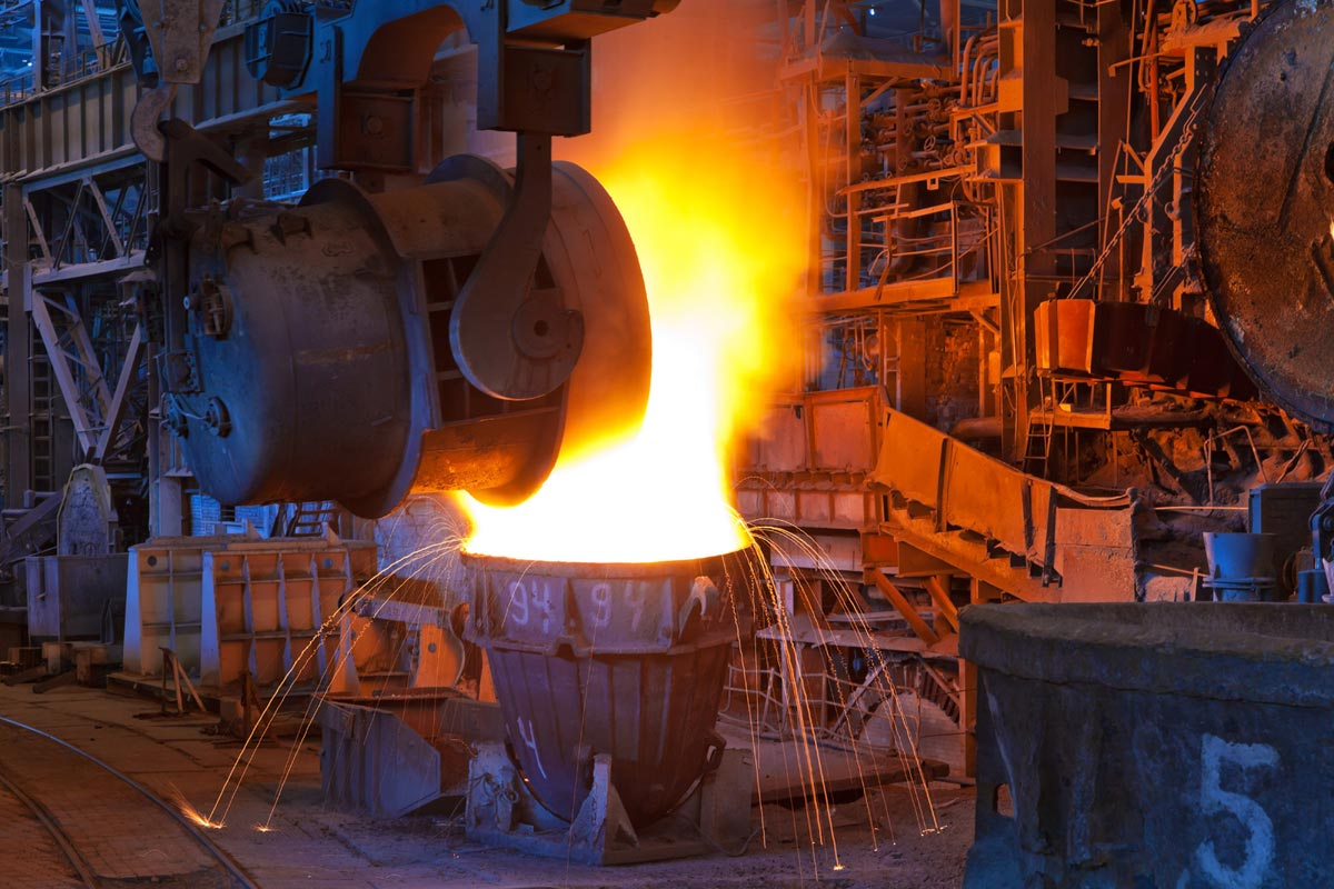 Металлургический завод. Фото с сайта www.logliv.ru