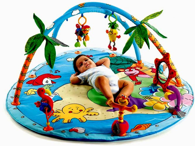 Развивающий коврик для новорожденного. Фото с сайта vse-detkam.kz