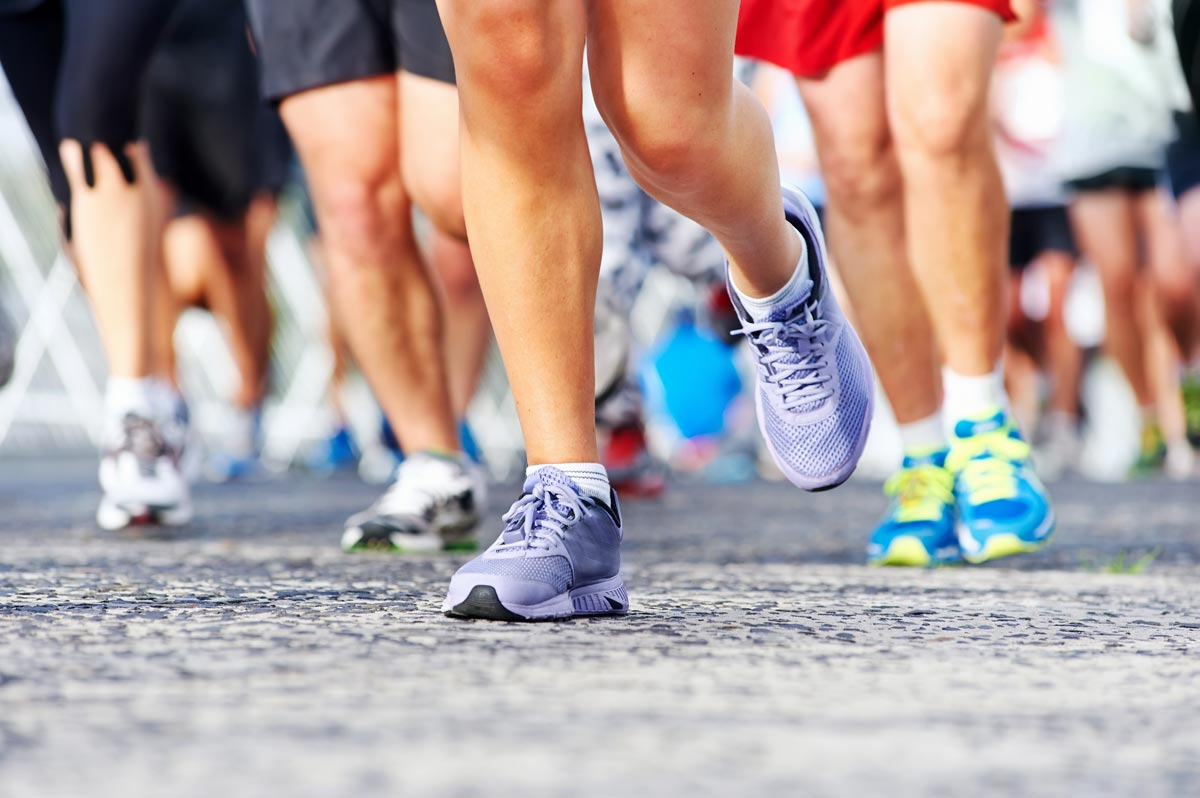 Участвуйте в благотворительных марафонах. Фото с сайта www.ptmagazine.co.uk