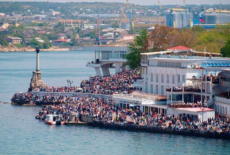 Майские праздники в Севастополе. Фото с сайта std3.ru