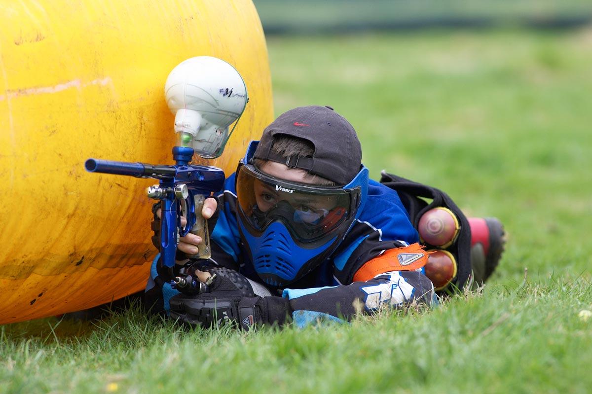 Пейнтбол - это весело и экстремально. Фото с сайта picardie.cmcas.com
