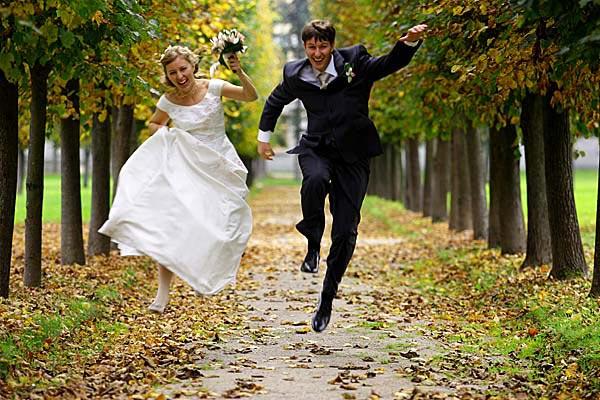 Весело молодоженам и гостям может быть и без тамады. Фото: melomi.ru