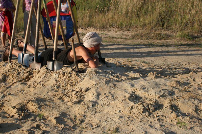 Посвящение в археологи. Фото с сайта odessa-life.od.ua