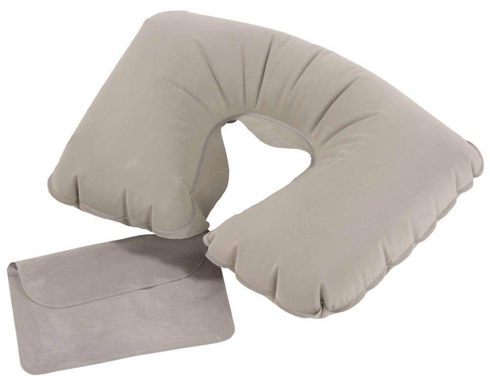 С надувной подушкой Ваш брат сможет отдохнуть в дороге. Aото с сайта www.sladson.ru