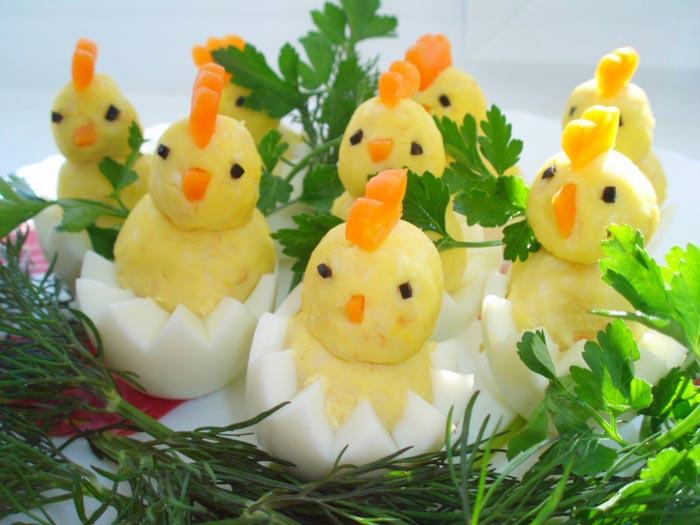 Цыплята из яиц. Фото с сайта recipes.ucoz.com
