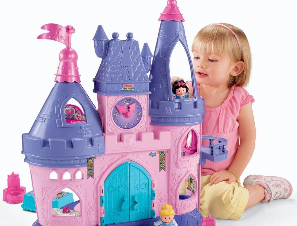 Домик для настоящей принцессы. Фото с сайта newpix.ru