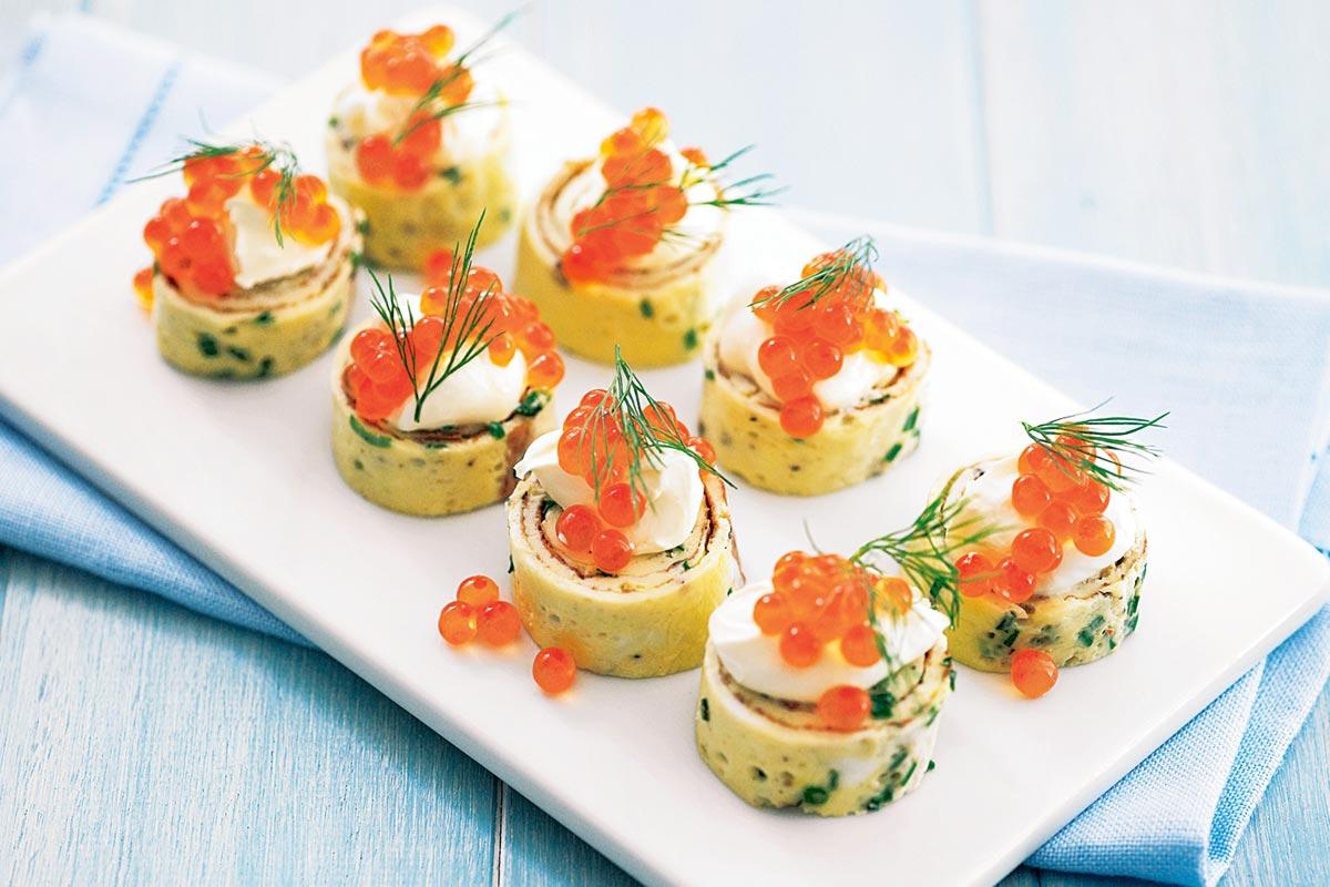 Праздничные канапе. Фото с сайта taste.com.au