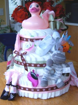 Торт для девочки. Фото с сайта jeland.ru