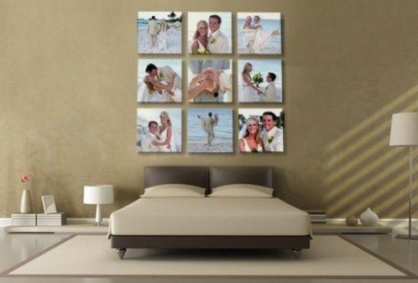 Фотоколлаж на стену - отличный подарок. Фото с сайта webgreenland.com