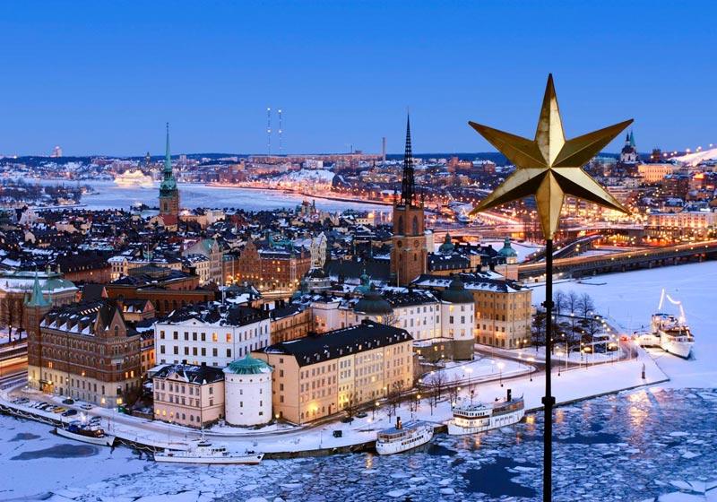 Новый год в Швеции. Фото с сайта www.visitsweden.com