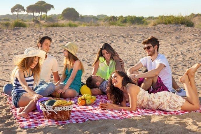 День рождения на пляже. Фото с сайта kasjauns.lv