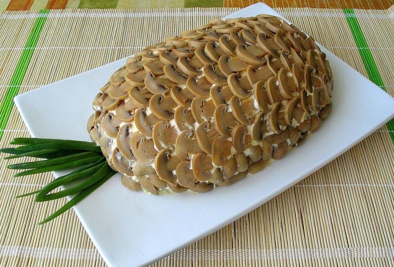 """Салат """"ананас"""". Фото с сайта ny.hochu.ua"""