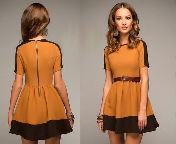 Оранжевые платья благосклонно оценит Огненный Петух. Фото с сайта redialstyle.com