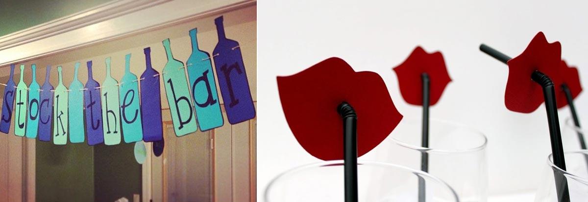 Декор для пивной вечеринки. Фото с сайта www.sweetcitycandy.com