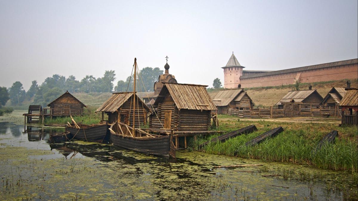 Посмотрите колоритные селения родной страны. Фото с сайта vsevgallery.com