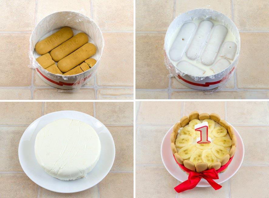Торт на первый день рождения ребенка. Фото с сайта www.baby.ru
