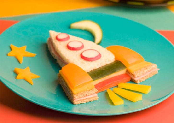 Бутерброд ракета. Фото с сайта www.mode.com