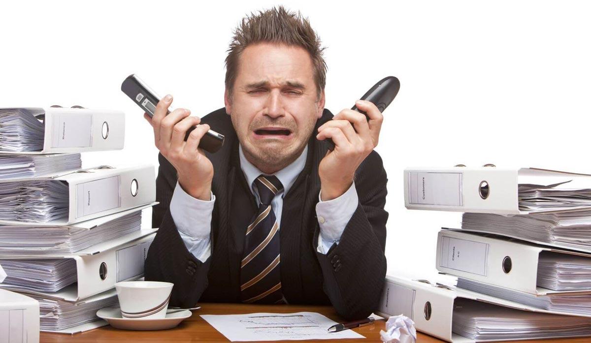 Стресс на работе - не редкость. Фото с сайта fleximize.com