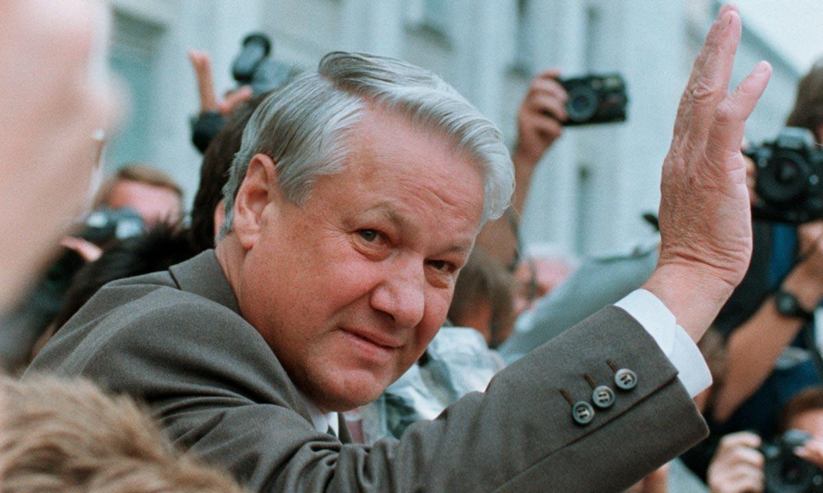 Ельцин - первый президент России. Фото с сайта media.guim.co.uk
