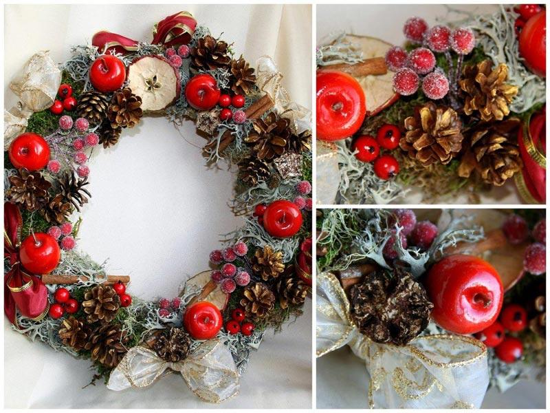 Новогодние венки. Фото с сайта media.decorateme.com