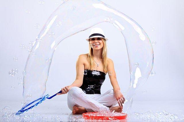 Шоу мыльных пузырей. Фото с сайта ufa-room.ru