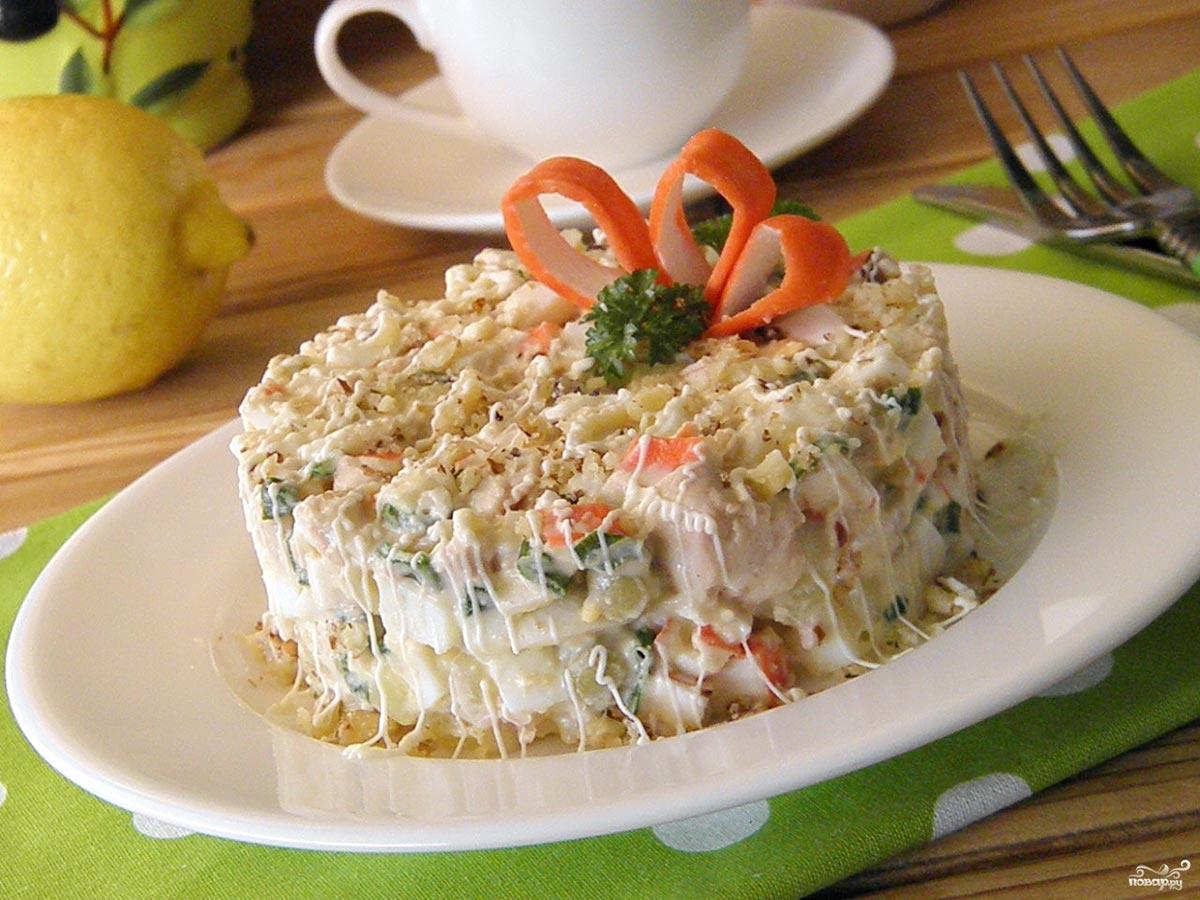 Новогодний салатик